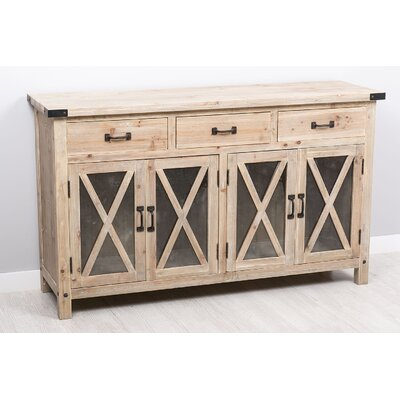 Garpe Interiores Corsica 3 Drawer and 4 Door Chest