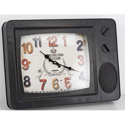 Garpe Interiores TV Wall Clock