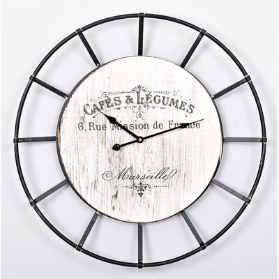 Garpe Interiores 61cm Wall Clock