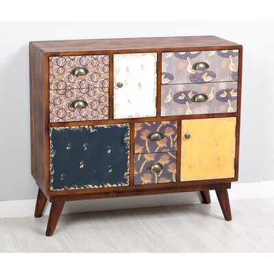 Garpe Interiores Malibu 3 Door 6 Drawer Cabinet