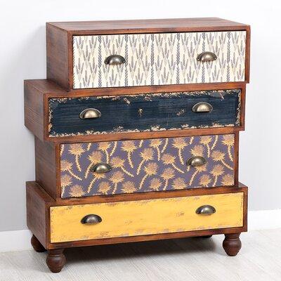 Garpe Interiores Malibu 4 Drawer Chest