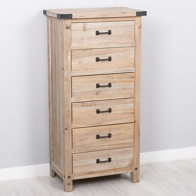 Garpe Interiores Corsica 6 Drawer Chest of Drawers
