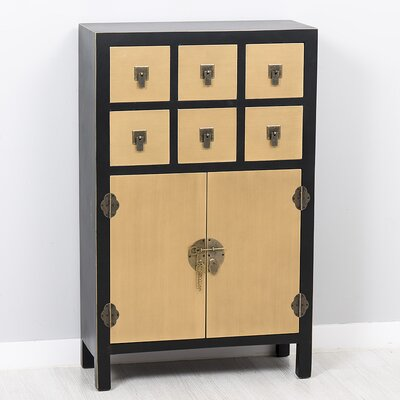 Garpe Interiores Sepang 6 Drawer and 2 Door Chest