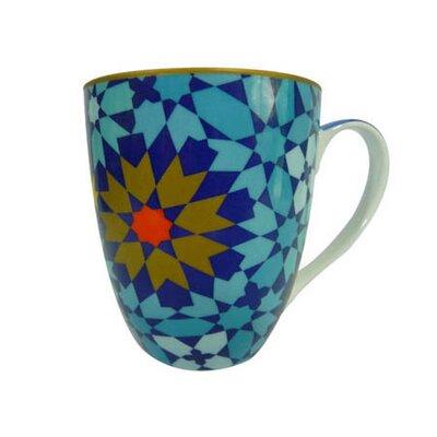 Images D'Orient UK 220ml Porcelain Mug in Blue