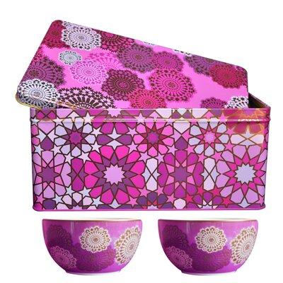 Images D'Orient UK 3-Piece Tin Box and Bowl Set