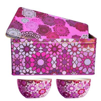 Images D'Orient UK Moucharabieh 3-Piece Tin Box and Bowl Set