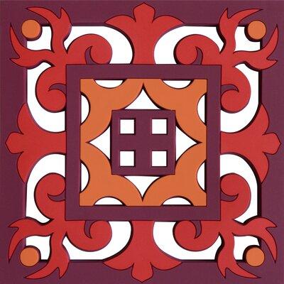 Images D'Orient UK Sejjadeh Prune 25.5cm Trivet