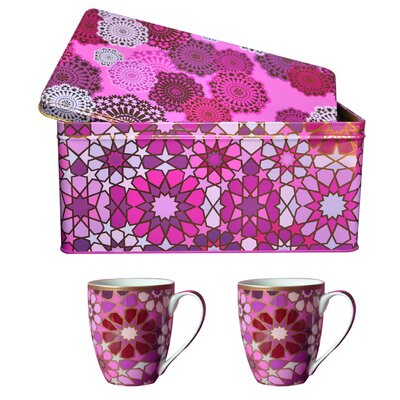 Images D'Orient UK Moucharabieh 3-Piece Box and Cup Set