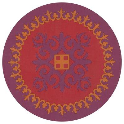 Images D'Orient UK Sejjadeh Prune 33.7cm Presentation Plate in Zen