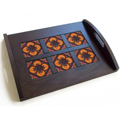 Images D'Orient UK Sejjadeh Prune 44cm Tray