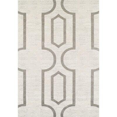 Oriental Weavers Teppich Louvre in Creme/ Grau