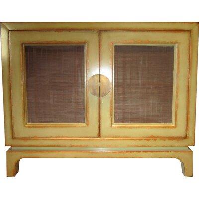 Modern 2 Door Accent Cabinet