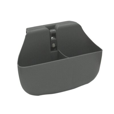 Push 'N Stay Divided Suction Sink Organizer Color: Grey