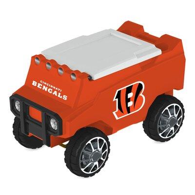 30 Qt. NFL Rover Cooler NFL Team: Cincinnati Bengals