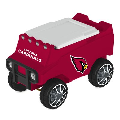 30 Qt. NFL Rover Cooler NFL Team: Arizona Cardinals