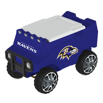 30 Qt. NFL Rover Cooler NFL Team: Baltimore Ravens