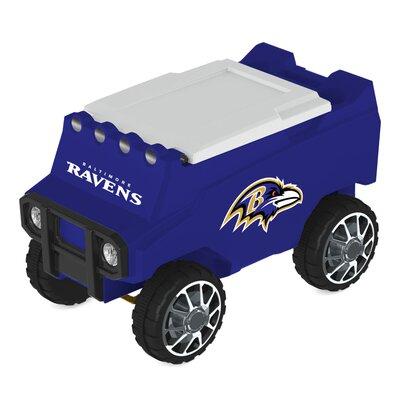 30 Qt. NFL Rover Cooler NFL Team: Baltimore Ravens