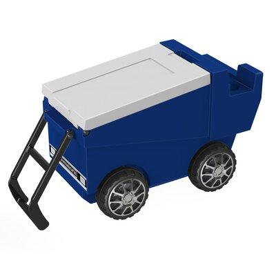 30 Qt. Zamboni Rolling Cooler Color: Zamboni Blue
