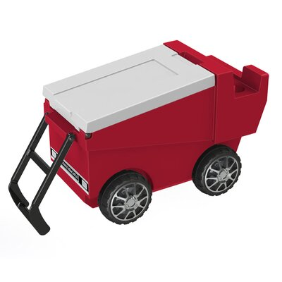 30 Qt. Zamboni Rolling Cooler Color: Red