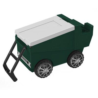 30 Qt. Zamboni Rolling Cooler Color: Green