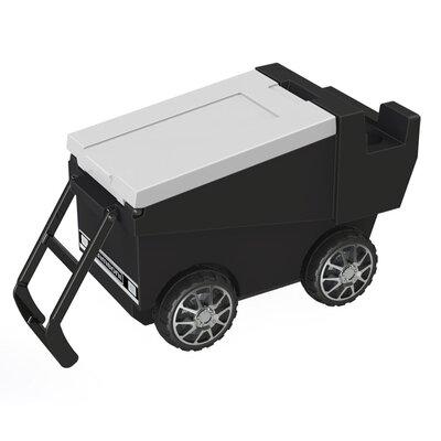 30 Qt. Zamboni Rolling Cooler Color: Black