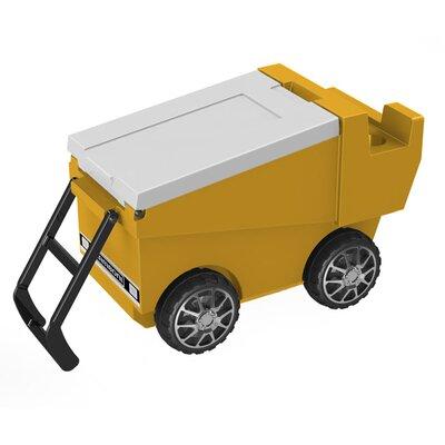 30 Qt. Zamboni Rolling Cooler Color: Yellow