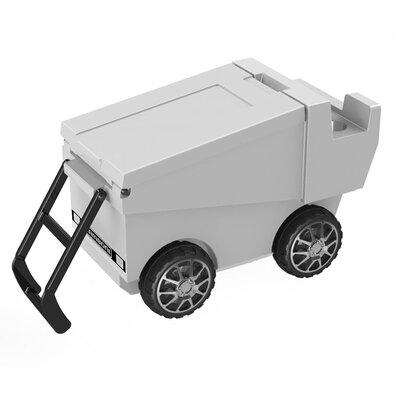 30 Qt. Zamboni Rolling Cooler Color: White
