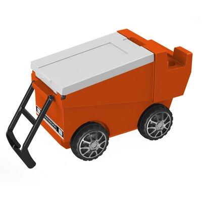 30 Qt. Zamboni Rolling Cooler Color: Orange