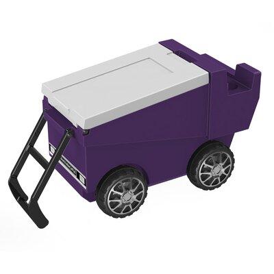 30 Qt. Zamboni Rolling Cooler Color: Purple