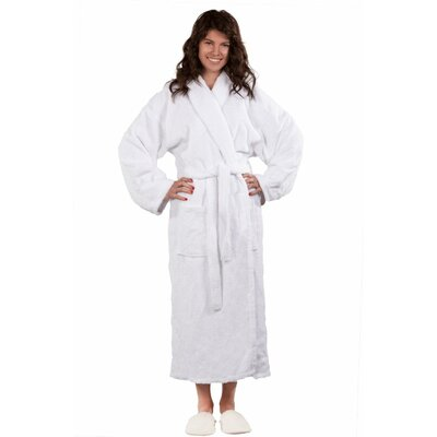 Forster Terry Shawl Robe Size: Adult - One Size, Color: White