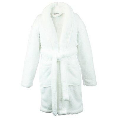 Basel Kids Shawl Robe Size: Kids (Age 3-6) - Small, Color: White