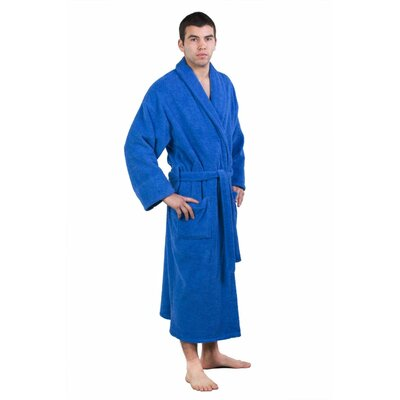 Forster Terry Shawl Robe Size: Adult - One Size, Color: Royal Blue