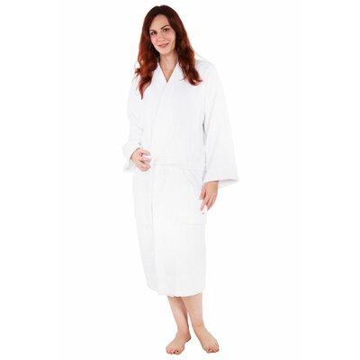 Fontaine Terry Kimono Robe Size: Adult - One Size, Color: White