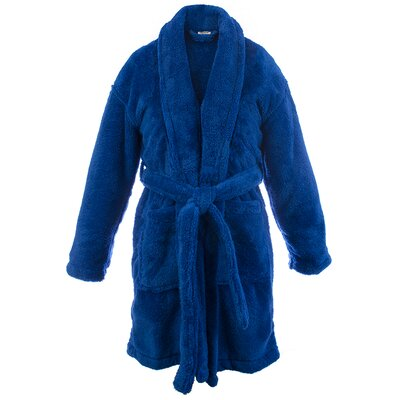 Basel Kids Shawl Robe Size: Kids (Age 3-6) - Small, Color: Royal Blue