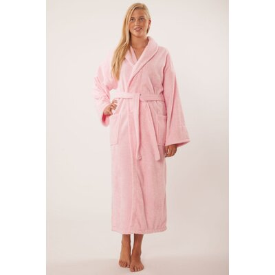 Forster Terry Shawl Robe Size: Adult - One Size, Color: Pink