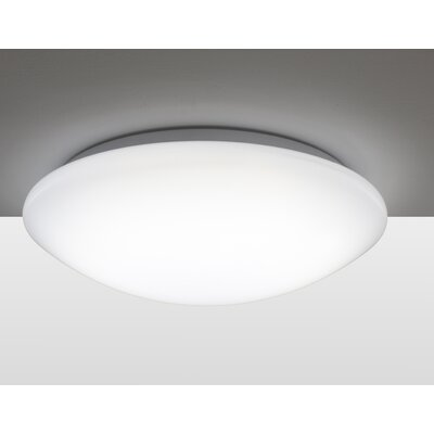 Electric City 1 Light Flush Ceiling Light