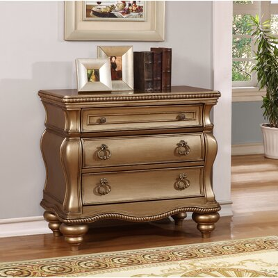 Cleve 3 Drawer Accent Chest