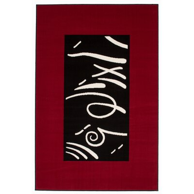 Kayoom Funky Red Area Rug