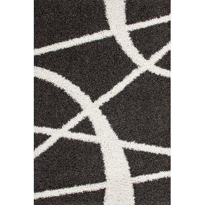 Kayoom Twister Anthracite Area Rug