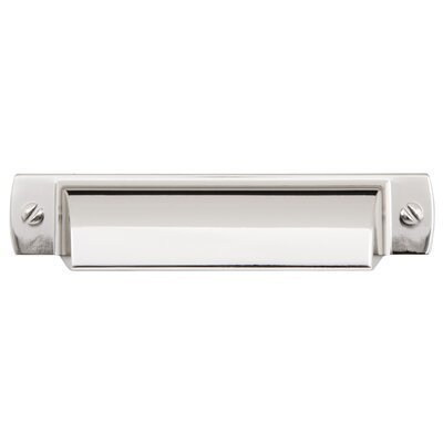 """Lancaster 3"""" Center Cup Pull Finish: Polished Nickel"""