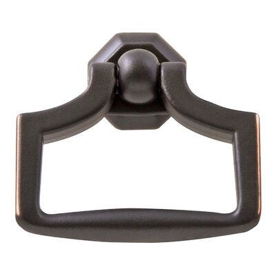 "2 1/4"" Center Ring Pull Finish: Oil Rubbed Bronze"