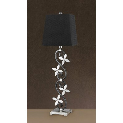 "Cal Lighting Lonia Buffet 33.5"" H Table Lamp with Empire Shade"