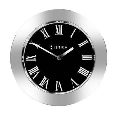 Istra 30cm Stainless Steel Roman Wall Clock