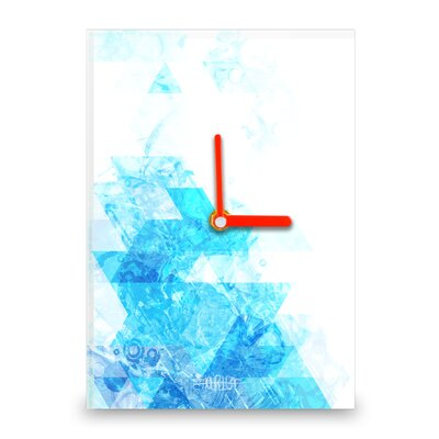 Hourleaf Water Rush Wall Clock