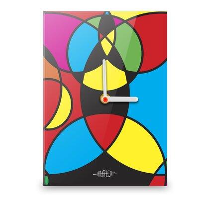Hourleaf Circles Meet Wall Clock