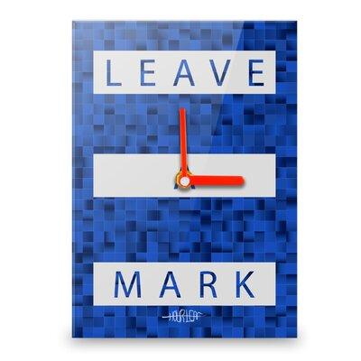 Hourleaf Leave a Mark Wall Clock