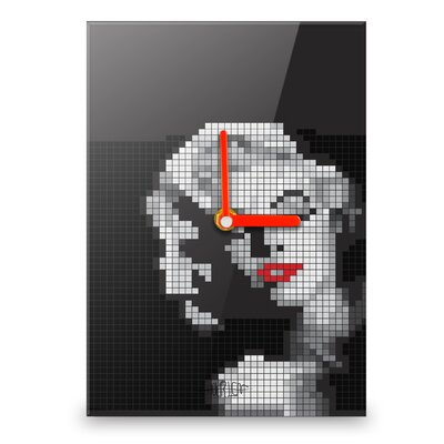 Hourleaf Marilyn Monroe Mosaic Wall Clock