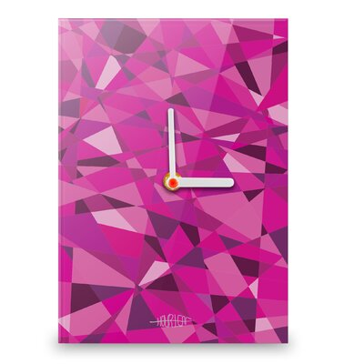 Hourleaf Shard Wall Clock