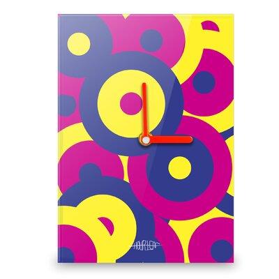 Hourleaf Retro Circles Wall Clock