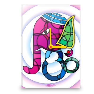Hourleaf Ganesha Wall Clock